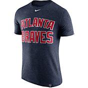 Nike Men's Atlanta Braves Dri-Blend White DNA T-Shirt