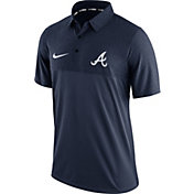 Nike Men's Atlanta Braves Dri-FIT Navy Elite Polo