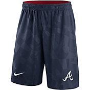 Nike Men's Atlanta Braves Dri-FIT Navy Knit Shorts