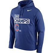 Nike Men's 2016 World Series Champions Therma-FIT Chicago Cubs Royal Performance Hoodie