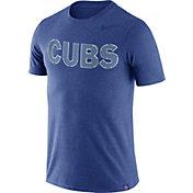 Nike Men's Chicago Cubs Dri-Blend Burnout T-Shirt