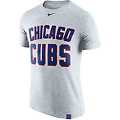 Nike Men's Chicago Cubs Dri-Blend White DNA T-Shirt