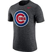 Nike Men's Chicago Cubs Marled Grey T-Shirt