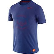 Nike Men's Chicago Cubs Dri-Blend Cooperstown Royal T-Shirt