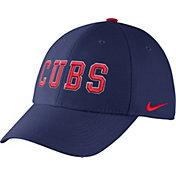 Nike Men's Chicago Cubs Dri-FIT Royal Legacy 91 Swoosh Flex Hat