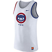 Nike Men's Chicago Cubs Cooperstown White Tank Top