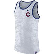 Nike Men's Chicago Cubs Dri-Blend Premium White Tank Top