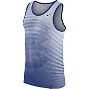 Nike Men's Chicago Cubs White Tri-Blend Tank Top