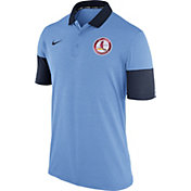 Nike Men's St. Louis Cardinals Dri-FIT Light Blue Polo