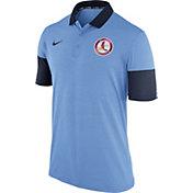 Nike Men's St. Louis Cardinals Dri-FIT Light Blue Polo