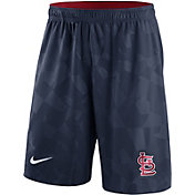 Nike Men's St. Louis Cardinals Dri-FIT Navy Knit Shorts