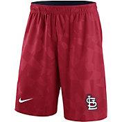 Nike Men's St. Louis Cardinals Dri-FIT Red Knit Shorts