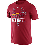 Nike Men's St. Louis Cardinals Practice Red T-Shirt