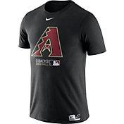 Nike Men's Arizona Diamondbacks Dri-FIT Authentic Collection Black T-Shirt