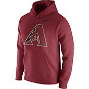 Nike Men's Arizona Diamondbacks Club Red Pullover Hoodie