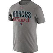 Nike Men's Arizona Diamondbacks Practice Grey T-Shirt