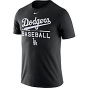 Nike Men's Los Angeles Dodgers Practice Black T-Shirt