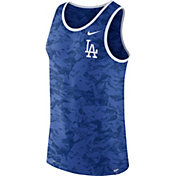 Nike Men's Los Angeles Dodgers Dri-Blend Premium Royal Tank Top