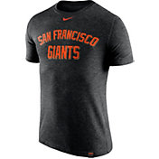 Nike Men's San Francisco Giants Dri-Blend Black DNA T-Shirt