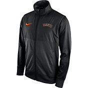 Nike Men's San Francisco Giants Black Full-Zip Track Jacket