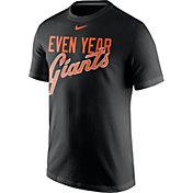 "Nike Men's San Francisco Giants ""Even Year Giants"" Black T-Shirt"