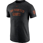 Nike Men's San Francisco Giants DNA Tri-Blend Heathered Black T-Shirt