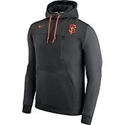 Nike Men's San Francisco Giants Dri-FIT Black AV Pullover Hoodie