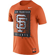 Nike Men's San Francisco Giants Cooperstown Graphic Orange T-Shirt