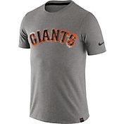 Nike Men's San Francisco Giants Marled Grey T-Shirt