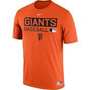 Nike Men's San Francisco Giants Dri-FIT Authentic Collection Orange Legend T-Shirt
