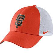 Nike Men's San Francisco Giants Dri-FIT Orange/White Heritage 86 Adjustable Hat