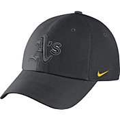 Nike Men's Oakland Athletics Dri-FIT Grey Heritage 86 Adjustable Hat