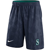Nike Men's Seattle Mariners Dri-FIT Navy Knit Shorts