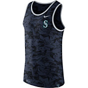 Nike Men's Seattle Mariners Dri-Blend Premium Navy Tank Top