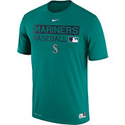 Nike Men's Seattle Mariners Dri-FIT Authentic Collection Teal Legend T-Shirt