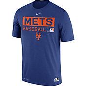 Nike Men's New York Mets Dri-FIT Authentic Collection Royal Legend T-Shirt