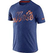 Nike Men's New York Mets Marled Royal T-Shirt