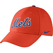Nike Men's New York Mets Dri-FIT Orange Legacy 91 Swoosh Flex Hat
