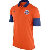 Nike Men's New York Mets Dri-FIT Orange Polo