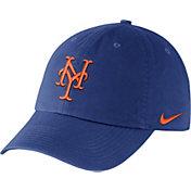 Nike Men's New York Mets Dri-FIT Royal Heritage 86 Stadium Adjustable Hat