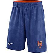 Nike Men's New York Mets Dri-FIT Royal Knit Shorts
