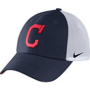 Nike Men's Cleveland Indians Dri-FIT Navy/White Heritage 86 Adjustable Hat