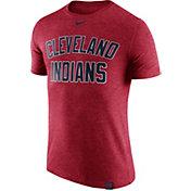 Nike Men's Cleveland Indians Dri-Blend Red DNA T-Shirt