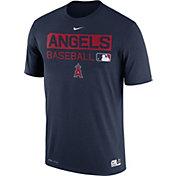 Nike Men's Los Angeles Angels Dri-FIT Authentic Collection Navy Legend T-Shirt