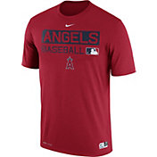 Nike Men's Los Angeles Angels Dri-FIT Authentic Collection Red Legend T-Shirt