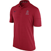 Nike Men's Los Angeles Angels Dri-FIT Red Polo