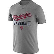 Nike Men's Washington Nationals Practice Grey T-Shirt