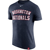 Nike Men's Washington Nationals Dri-Blend Navy DNA T-Shirt