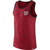 Nike Men's Washington Nationals Dri-Blend Premium Red Tank Top