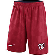 Nike Men's Washington Nationals Dri-FIT Red Knit Shorts